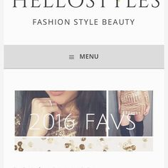 NEW BLOG POST went up last night on Hellostylesblog!✨ 2016 favs! Fav looks and fashion as well as some personal triumphs of mine and experiences from this last year. It got a little personal guys! Please visit the link in my bio and let me know what you beauties think! 💕xo #2016 #nye #blog #fashionblogger #beautyblogger #styleblogger #hellostylesblog #makeup #fashion #styles #style #blogpost #bloggerswanted #fancy #lux #love #fashiondiaries #sephora #sephorahaul #like4like #picoftheday…