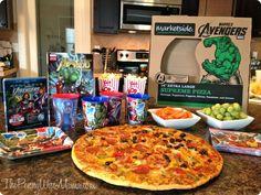 We had a super fun Avengers Pizza & Movie night! #MarvelAvengersWMT #CBias