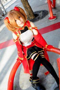 #Sword art online cosplay Silica