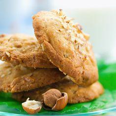 Hazelnut Cookies - Cookies aux noisettes, facile et pas cher : recette sur Cuisine Actuelle