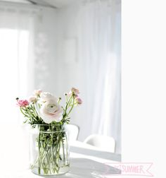 Forever Love Forever Love, Flower Centerpieces, Summertime, Glass Vase, Floral Design, Bloom, Beautiful, Claire, Garden Ideas