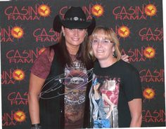 "Meeting my fav ""Canadian"" Terri Clark, she later autographed photo at the CCMA's..."