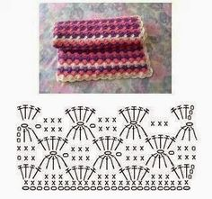 Colorful Fantasy Crochet Stitch. More Patterns Like This!