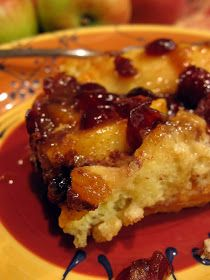 Apple Cranberry French Toast