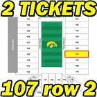 #Ticket  2ND ROW 2 TIX: North Dakota State @ Iowa Hawkeyes Football Tickets 9/17 107row2 #deals_us