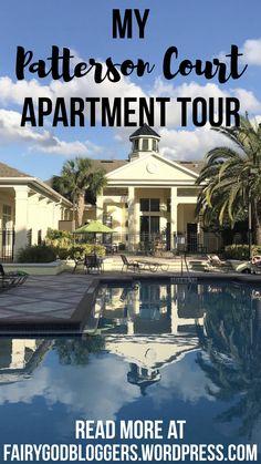 Disney College Program: My Patterson Court Apartment Tour