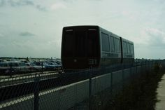 DFW in parking area #podcar #retrotransportation  #advancedtransit