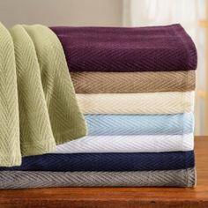 V Berth Blanket - 100% Cotton Metro Stitch