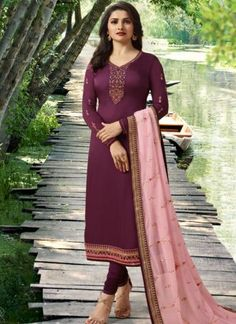 Grab Latest Churidar, Anarkali, Party Wear & EiD Festival Salwar Kameez Online with Flat OFF. Use Discount Code: Hurry up & shop Salwar Kameez. Churidar Suits, Salwar Kameez, Sharara Suit, Indiana, Prachi Desai, Trendy Suits, Indian Dresses Online, Suits For Women, Clothes For Women