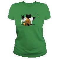 milking out Happy Cow, Mens Tops, T Shirt, Fashion, Supreme T Shirt, Moda, Tee Shirt, Fashion Styles, Fashion Illustrations