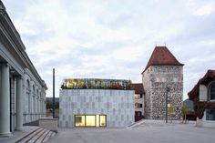 Extension of the Aarau City Museum Amazing Architecture, Contemporary Architecture, City Museum, Restaurant, Construction, Mansions, House Styles, Home Decor, Cool Architecture
