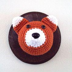Crochet Animals Head Trophies!