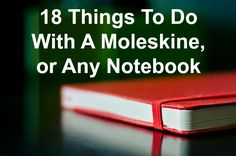 Many people have a notebook obsession. I know I do. A blank notebook is full of promise. It's an opportunity to reflect, to create, and to express yourself. When looking at a blank notebook it's almost impossible to resist the temptation to grab a pen and begin filling its pages. Although any notebook will do, …