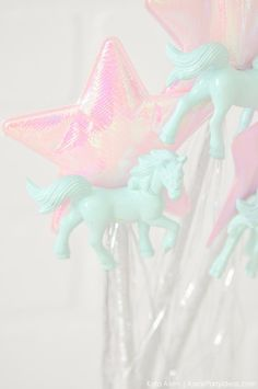 Unicorn wands at a unicorn themed birthday party by Kara's Party Ideas | Kara Allen | KarasPartyIdeas.com-200-25