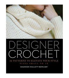 Designer Crochet Book