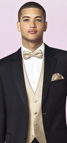 Dress Champagne Prom Tux and Red Interior