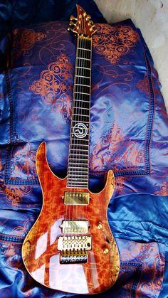 NGD - custom bubinga/wenge/kauri (JEH guitars) - Sevenstring.org