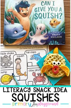 "Can I Give You A Squish? is a fantastic book with beautiful illustrations to help the students learn about consent and personal space. And due to our current social distancing, this book will empower kids to think of new ways to express love in this new world where touching, hugging, or ""squishing"" may not be the safest greeting.  #backtoschool #socialdistancing #kindergarten #preschool"
