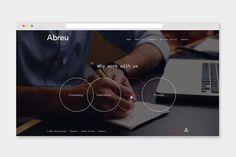 Abreu Group. on Behance