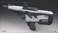 ArtStation - Destiny - The Taken King - Scout Rifle, Mark Van Haitsma
