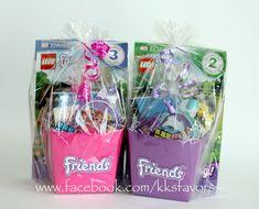 Lego Friends Favors from KK's Favors!