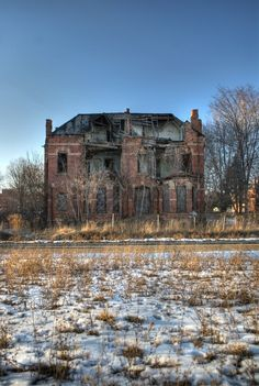 Abandoned Detroit by Robert  Hall, via Behance