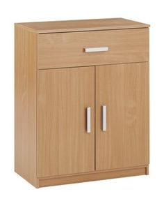 Komoda KABDRUP 1 zásuvka 2 dveře buk | JYSK