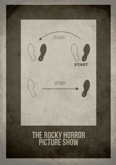 The rocky horror picture show-minimalist cover; thinking about this diagram as a tattoo, but not sure where yet.