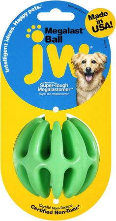 JW Pet Megalast Ball Dog Toy, Large - Chewy.com