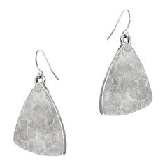 Mattlin Era by Nikki Reed The Hammered Earrings ($63) ❤ liked on Polyvore