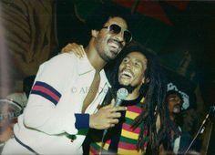 Stevie Wonder x Bob Marley.