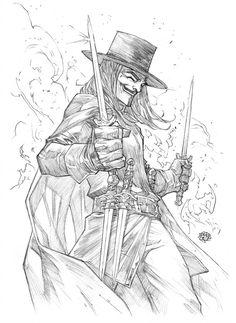 V for vendetta by rogercruz on DeviantArt V For Vendetta Tattoo, Vendetta Mask, Comic Art Fans, Ps Wallpaper, Rogue Comics, Dc Comics, Character Art, Character Design, Mask Drawing