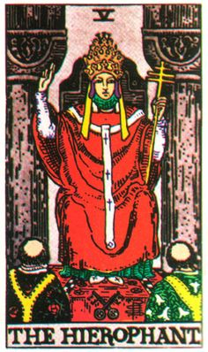 Tarot Card The Hierophant