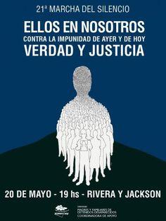 URUGUAY: MARCHA DEL SILENCIO CONTRA LA IMPUNIDAD DE AYER Y DE HOY