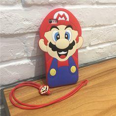 Original 3D Super Mario Handyhülle für Iphone5/5s/6/6s/6plus