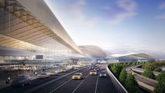 'In 2015, SHoP was selected as a finalist in the Master Plan Design Competition for New York's LaGuardia Airport. Launched by Governor Andrew Cuomo and Vice ...