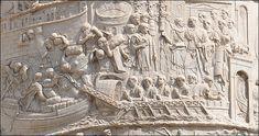 Détail de la colonne de Trajan