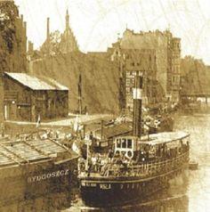 Parostatek firmy Lloyd Bydgoski na Brdzie. Zdjęcie z 1910 r