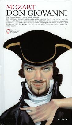 Don Giovanni | Opera Cover by Fernando Vicente, via Behance