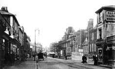 Grosvenor Road with the old General Hospital.