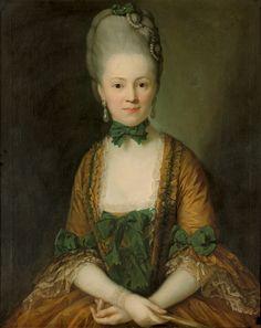 1772 Anton Graff - Henriette Caroline von Carlowitz