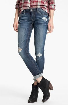 Skinny flare jeans for juniors