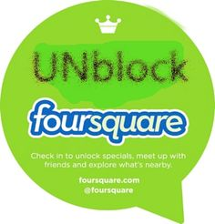 VPN to Unblock Foursquare on your PC, Mac and Smartphones.  >>How to unblock Foursquare in Censored Countries like in China >>Top VPN Service for Forsquare  http://www.bestvpnserver.com/vpn-to-unblock-foursquare-on-your-pc-mac-and-smartphones/