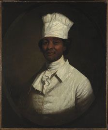Gilbert Stuart, Portrait of George Washington's Cook, ca. 1795-97. Courtesy of Museo Thyssen-Bornemisza, Madrid.