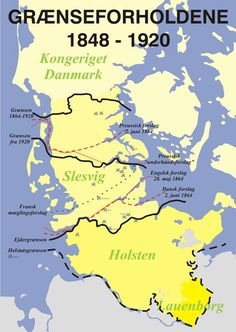 Grænser World History, Family History, Denmark History, Map Layout, Europe, Alternate History, Old Maps, Historical Maps, Military History