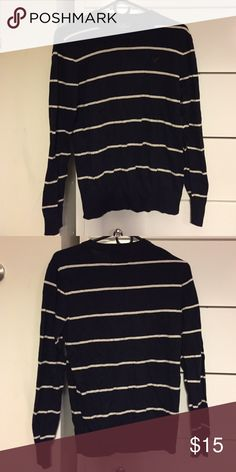 AEO Striped sweater Size XS fits like an S American Eagle Outfitters Sweaters Crew & Scoop Necks