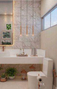 Trendy home design contemporary master bath 32 Ideas Bathroom Design Luxury, Modern Bathroom Decor, Contemporary Bathrooms, Bathroom Styling, Bathroom Small, Bad Inspiration, Bathroom Inspiration, Lavabo Vintage, Galerie D'art Moderne