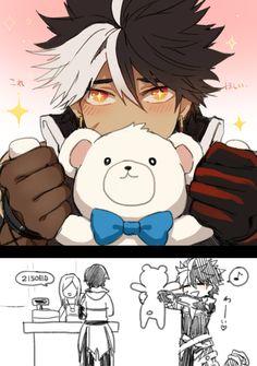 nyaah :3 Kawaii! ♥ Reckless Fist (Raven)