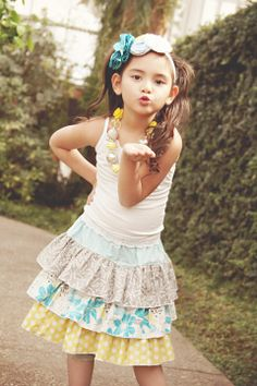 Cute skirt pattern by Create Kids Couture