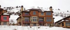 Vintage on the Strand Park City ski in ski out townhomes